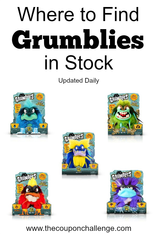 Find Grumblies in Stock